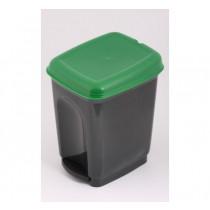 Cos de gunoi cu pedala 17l
