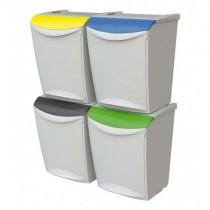 Cosuri reciclare selectiva deseuri 25l