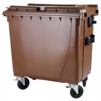 Container deseuri biodegradabile 1100 litri