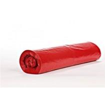 Saci menajeri 120 l rosii, LDPE