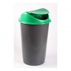 Cos de gunoi cu capac batant 60l