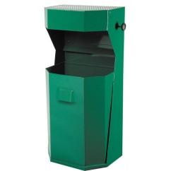 Cos gunoi cu scrumiera pentru exterior 50l