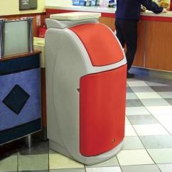 Cos gunoi fast food 140l