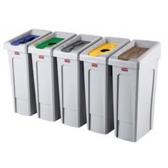 Cosuri colectare selectiva interior 87 litri