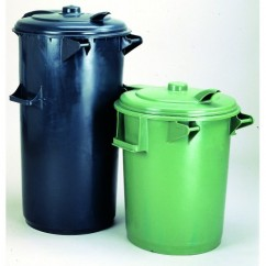 Pubela gunoi din plastic 70 litri