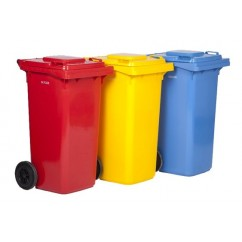 Pubele reciclare 120l