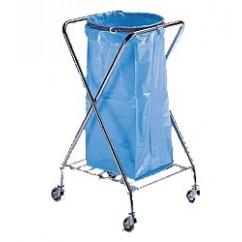 Suport saci menajeri mobil 120 litri, cromat