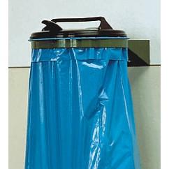 Suport saci menajeri fix 120 litri, cu capac, metalic